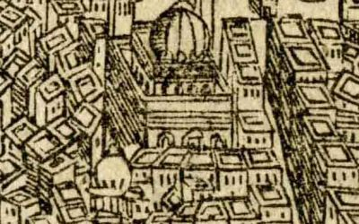 A Woodcut Map of Cairo