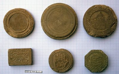 Clay Pilgrim Tokens from Iran