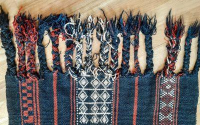 A Woven Rug from Jordan