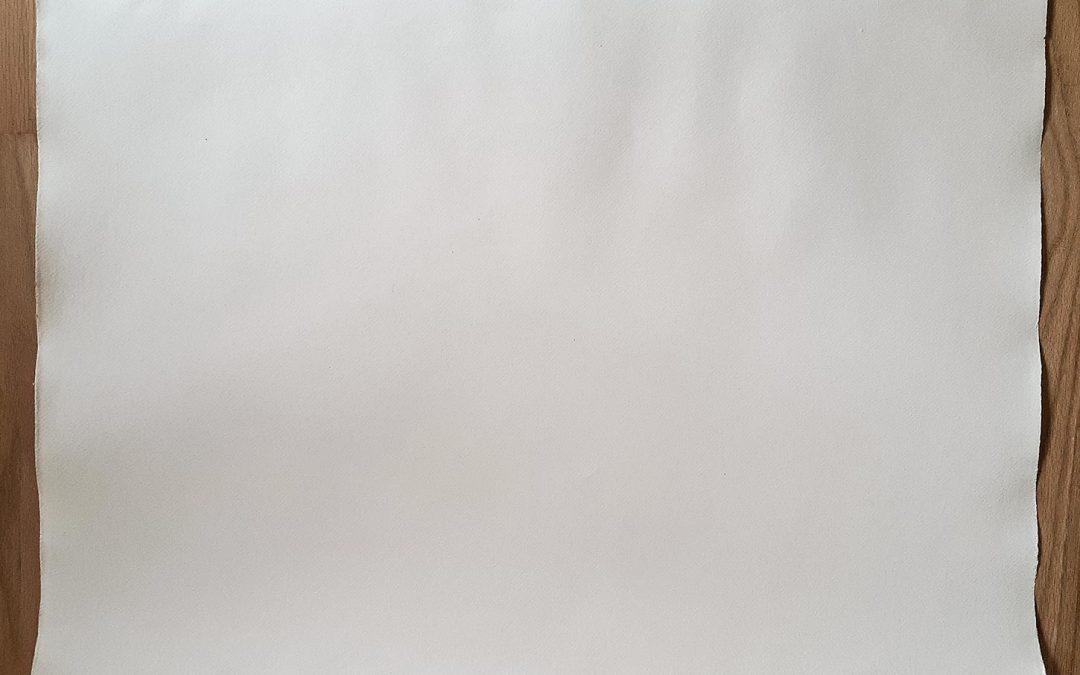 A Sheet of Handmade Paper