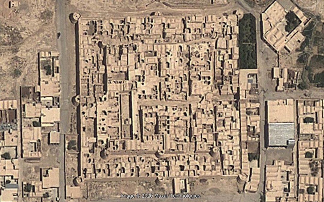 A Satellite Image of Shahrasb