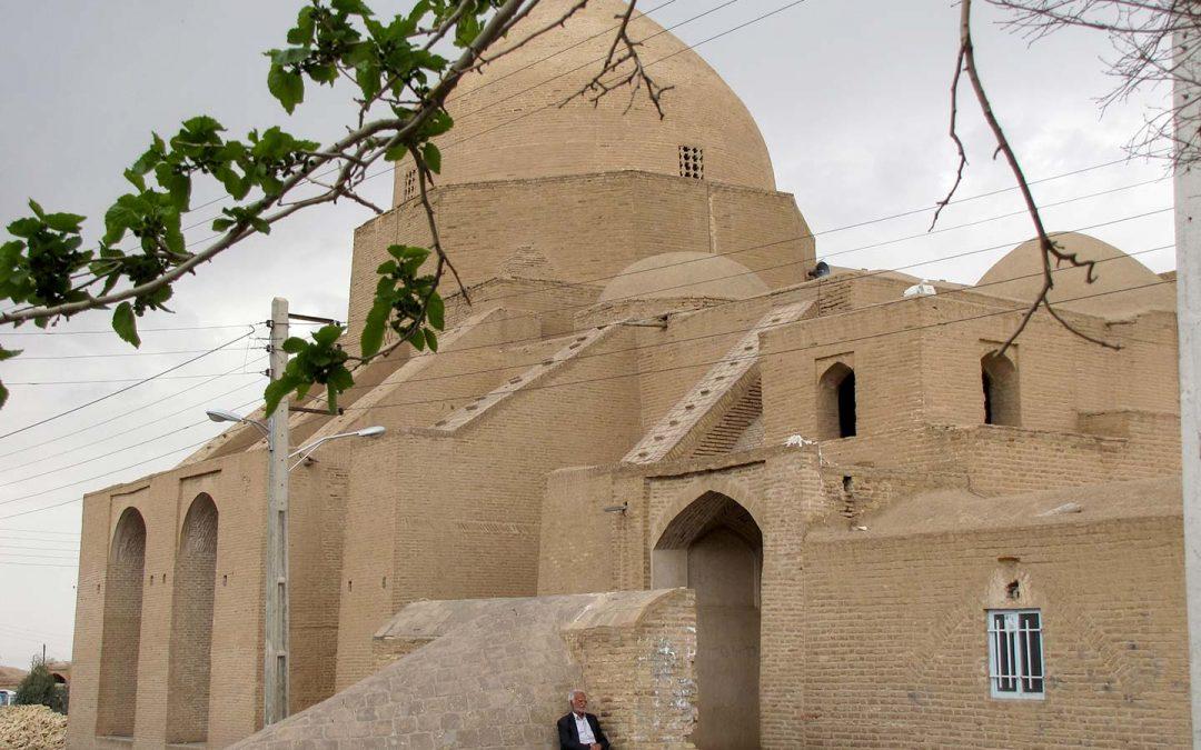 A Brick Dome in Iran
