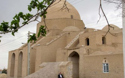 A Brick Dome in Iran