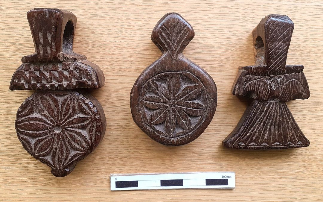 Three Wooden Amulets